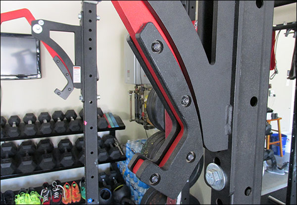 Rogue Monolift Attachment - an excessive use of UHMW in the hooks to protect your bar finish