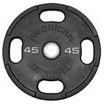 American Barbell Rubber Coated Olympic Plates