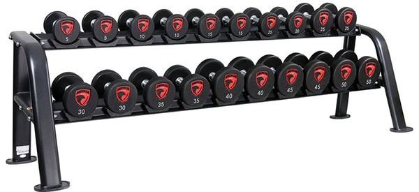 American Barbell Series IV Urethane Commercial Dumbbells