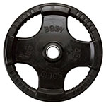 Body Solid Rubber-Coated Olympic Plates
