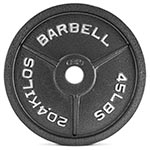 CAP Barbell OP Cast Iron Plates