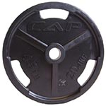 CAP Barbell OPHR Rubber Coated Olympic Plates