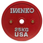 Ivanko Calibrated Powerlifting Discs