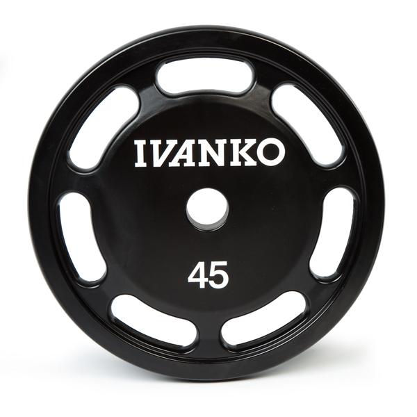 Ivanko Olympic URETHANE E-Z Lift Plates
