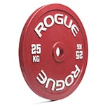 Rogue Calibrated Powerlifting Discs in kilograms and pounds