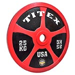 Titex Powerlifting Competition Discs