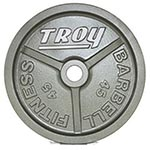 Troy Barbell Model HO Cast Iron Plates