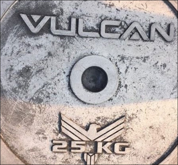 Vulcan Powerlifting Discs in kilograms and pounds - coming soon?