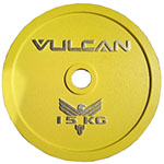 Vulcan Steel Calibrated Powerlifting Discs