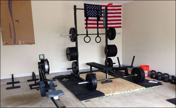 Complete garage gym - 100% CrossFit, Oly lifting, and powerlifting ready.