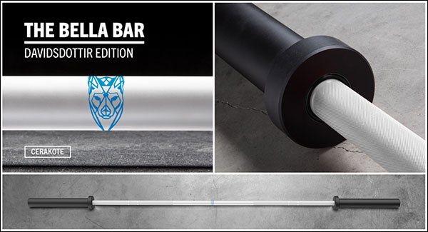 The Katrin Davidsdottir Cerakote Bella Athlete Bar