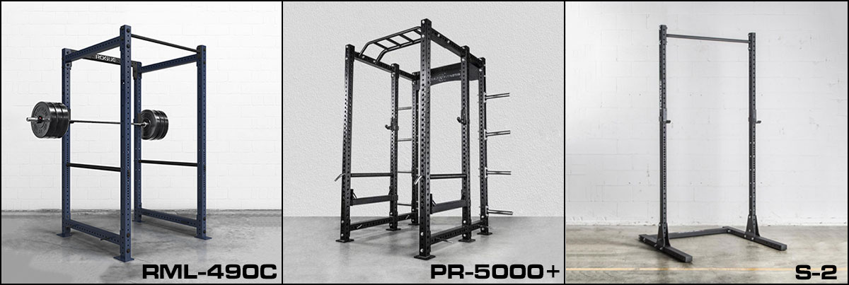 Other viable rack options for a powerlifting garage gym