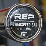 Rep Fitness PowerSpeed Bar Power Bar Review