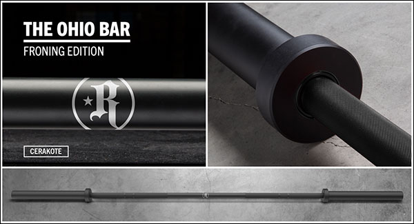 The Rich Froning Cerakote Ohio Athlete Bar
