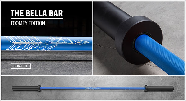 The Tia-Clair Toomey Cerakote Bella Athlete Bar