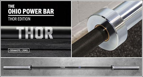 "Hafþór Júlíus ""Thor"" Björnsson Cerakote Ohio Power Bar"