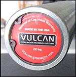 Vulcan Standard 28.5 mm Olympic Bar Comprehensive Review