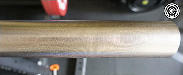 Shiny Nickel Phosphorus finish of the SS Bastard Power Bar
