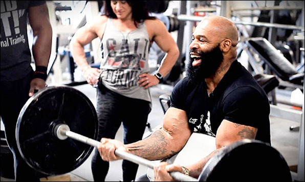 Preacher Curls with an EZ Curl Bar allow for isolation without discomfort - though a preacher bench is required