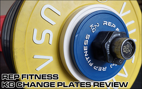 Comprehensive Change Plate Review - Rep Fitness Rubber-Coated Kilo