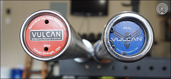 Both Vulcan Absolute Power Bars side-by-side
