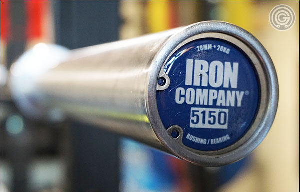 Full review of the Iron Company 5150 Olympic Hybrid Bearing Bar