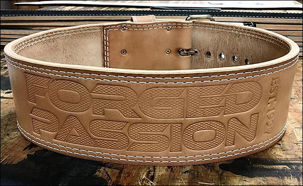 Iron Company's Forged Passion Leather Powerlifting Belt Review