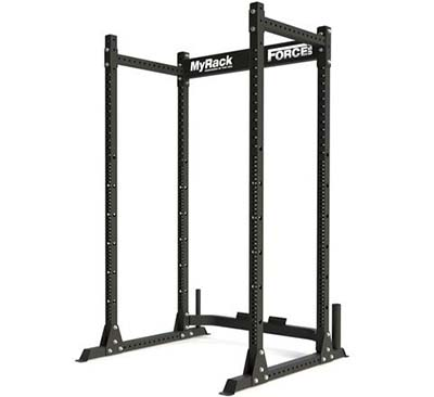 The base MyRack Power Rack before any accessories are added