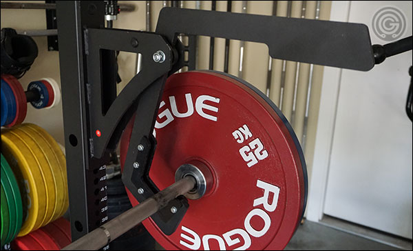 Force USA MyRack Monolift Attachment for banded bench pressing