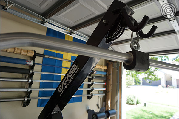 Cable exercise variety is limited only by the number of attachments you have access to.