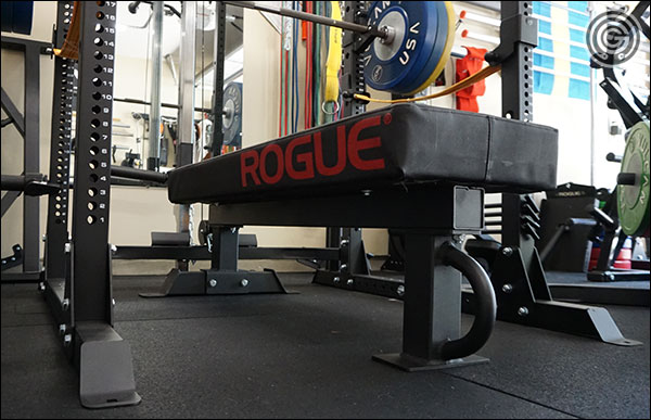 Rep Fitness FB-5000 Competition Bench with the Thompson Fat Pad