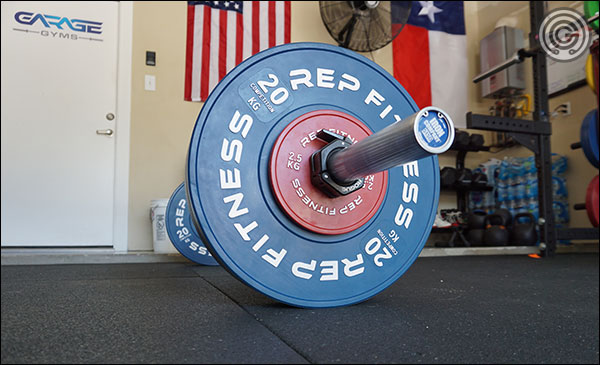 Rep Fitness Competition Bumper Plates
