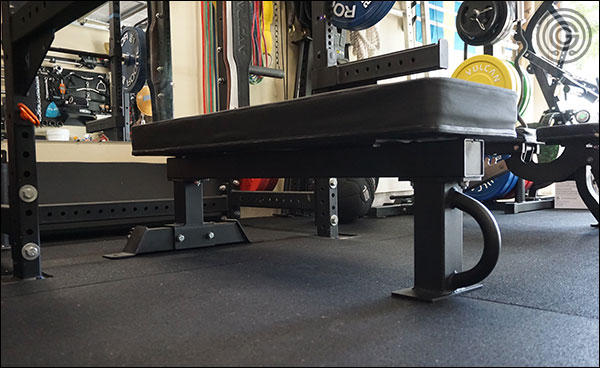 Rep Fitness Wide Pad mounted on the Rep FB-5000