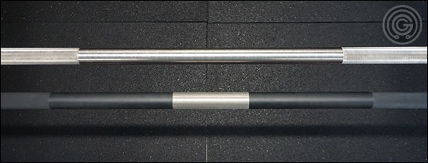 knurl spacing difference between the Ohio Bars and the Matt Chan Bar
