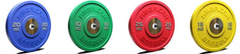 American Barbell Urethane Bumper Plates - New Design
