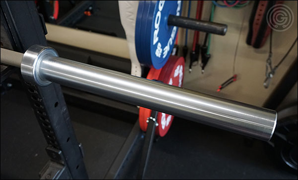 All of American Barbell's hard chrome sleeves come out of their shipping tubes looking like this, and if you put even a moderate amount of effort into caring for your AB bar then it'll look like this years down the road too.