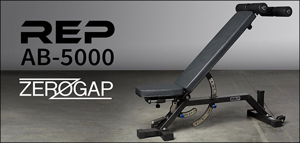 Rep Fitness AB-5000 Zero Gap Incline Adjustable Bench