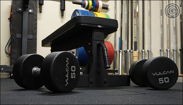 Every garage gym needs to have a flat utility bench