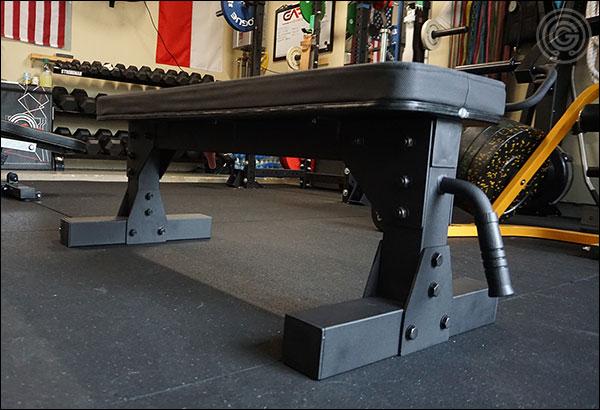 "Vulcan Prime 3""x3"" Utility Flat Bench"