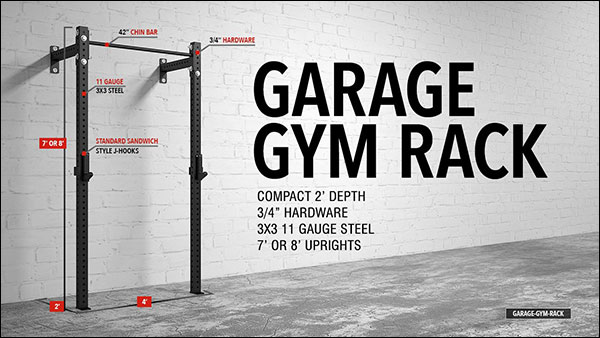 American Barbell Garage Gym Rack
