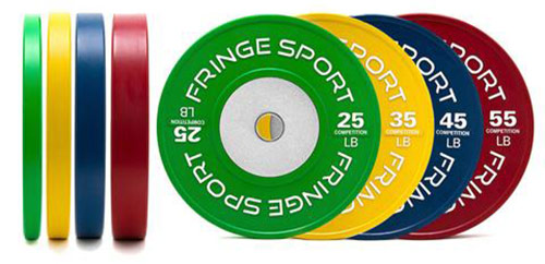 FringeSport Competition Bumper Plates