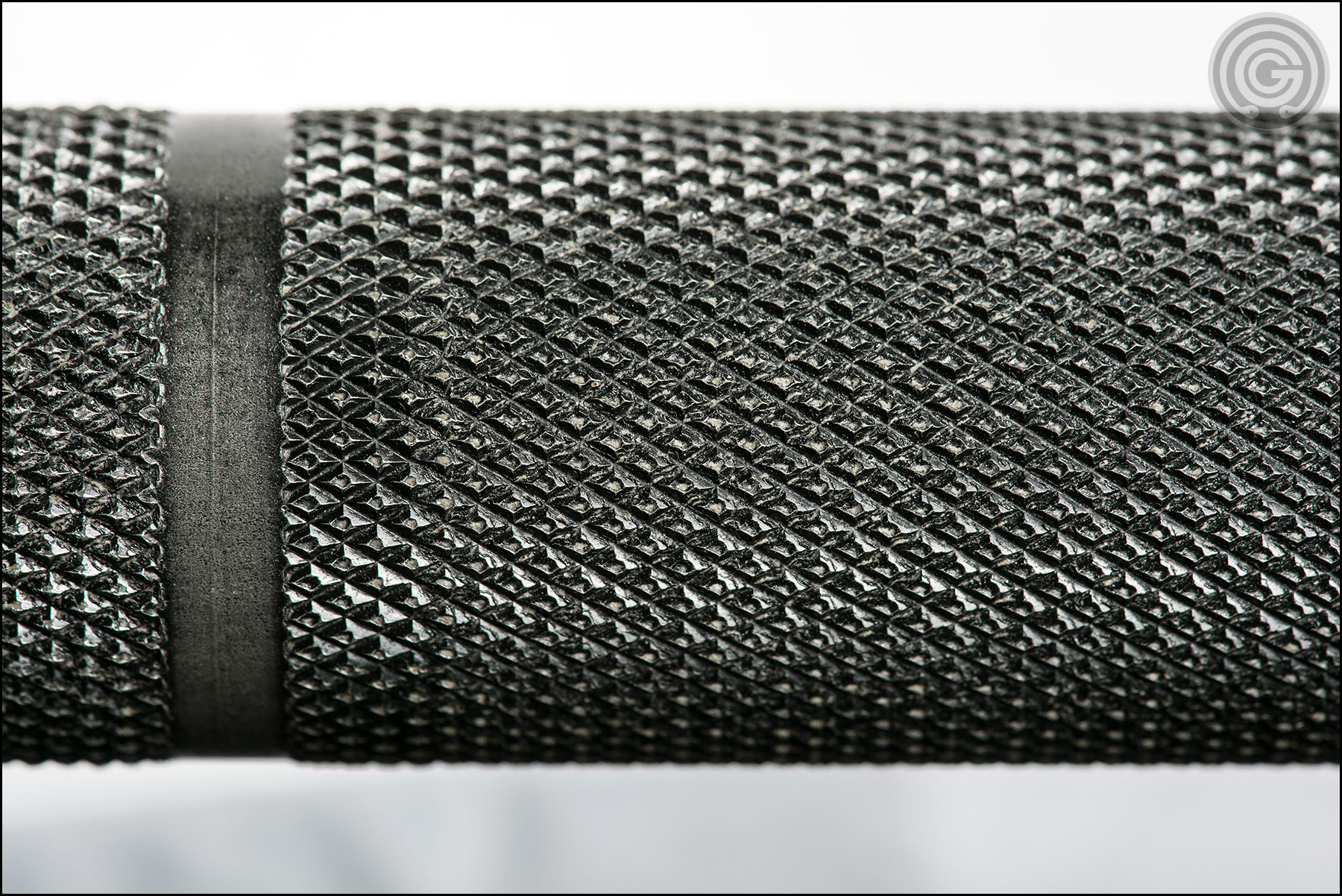 Knurling Gallery - Buddy Capps Texas Power Bar outer knurling