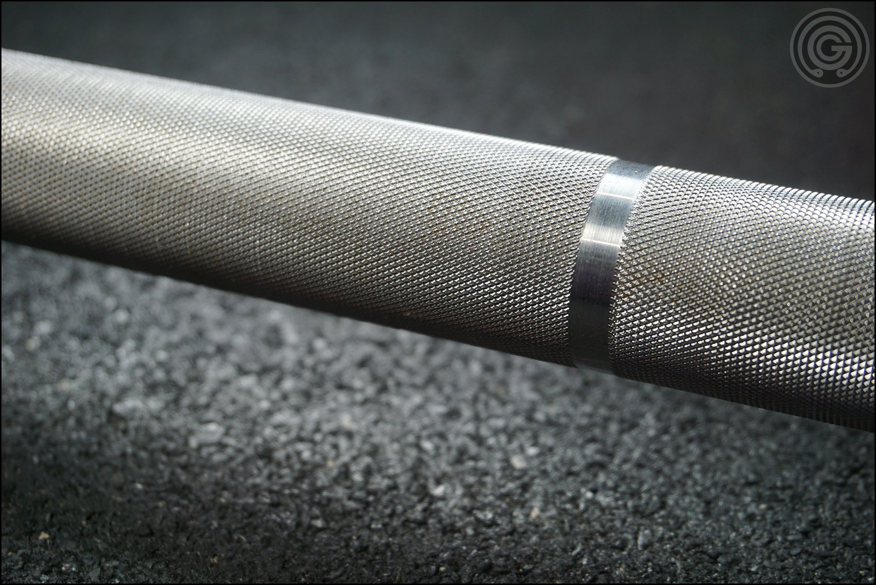 Knurling Gallery - American Barbell Grizzly Power Bar (outer knurling)