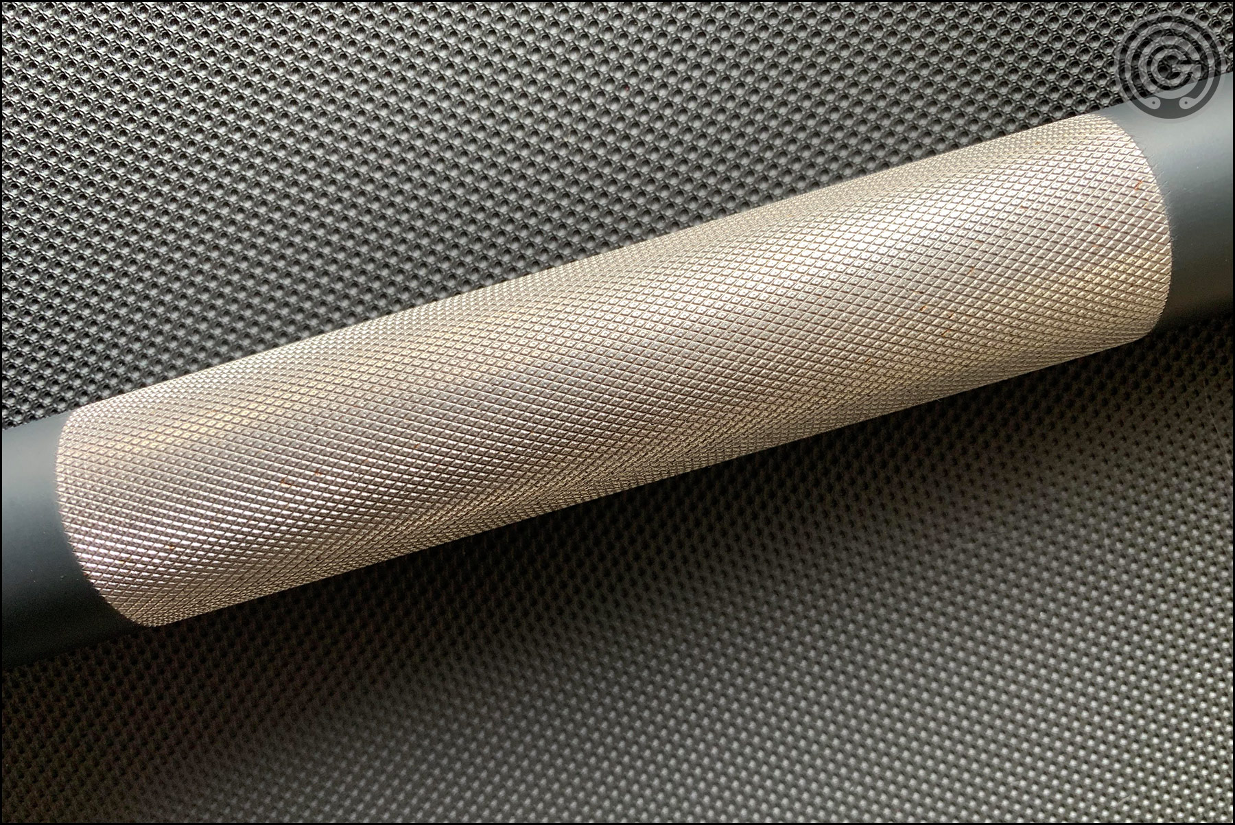 Rogue Cerakote SS Matt Chan Bar - Center Knurling