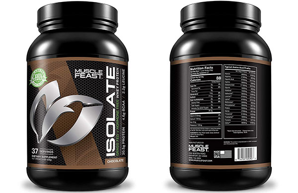 Muscle FeastGrass Fed Whey Protein Isolate