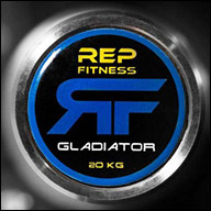 Rep Fitness Stainless Steel Gladiator Bar