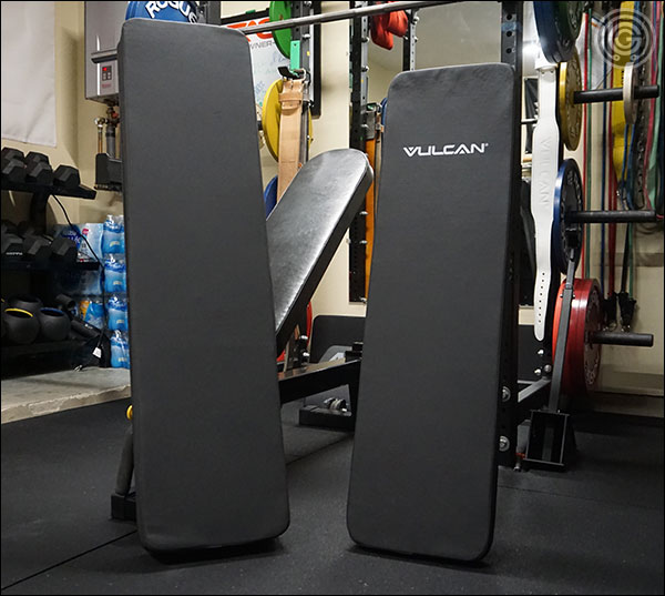 "A 12"" x 48"" pad compared to the Vulcan Prime's 12"" x 43½"" pad"