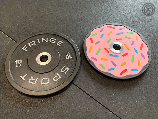 Fringe Sport Donut Bumper Plate Pairs