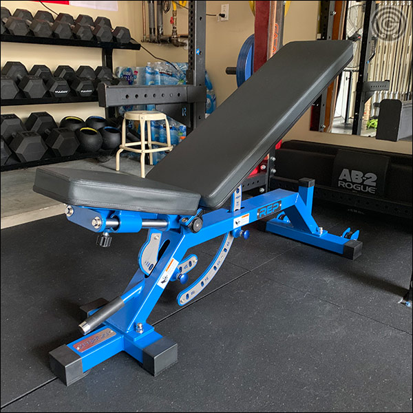 Rep Fitness AB-5000 Adjustable Bench - Incline at 30 degrees