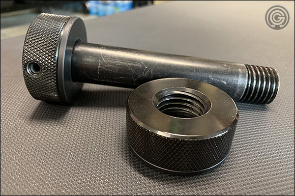 Rogue's new Knurled Knobs - no tools required